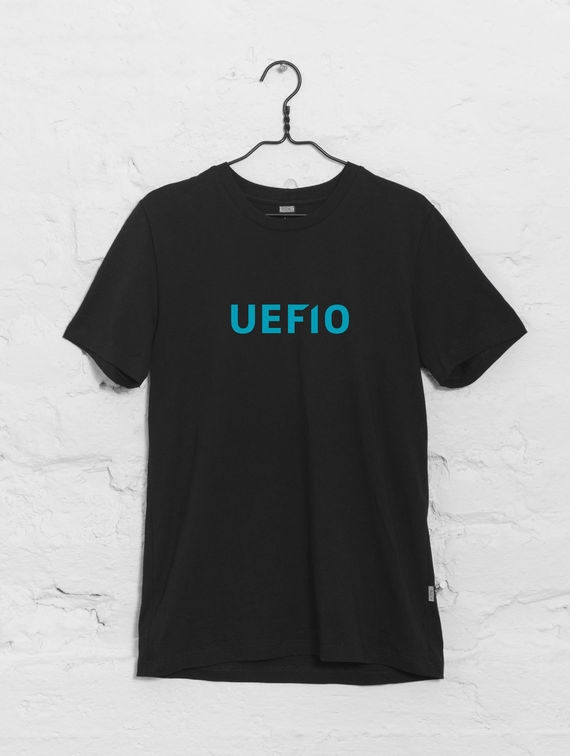 UEF10 Slim-fit T-shirt black