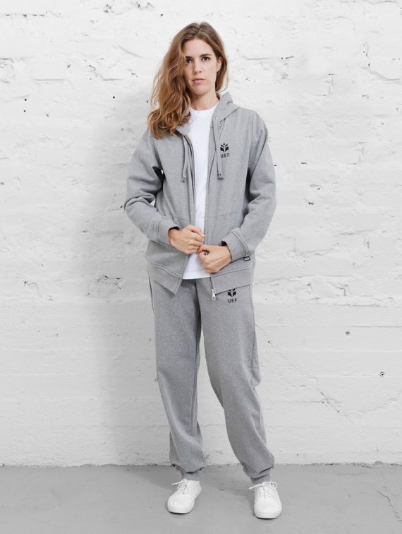 UEF Sweatpants smoke grey